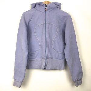 Lululemon Scuba Hoodie Jacket Size 10 Purple